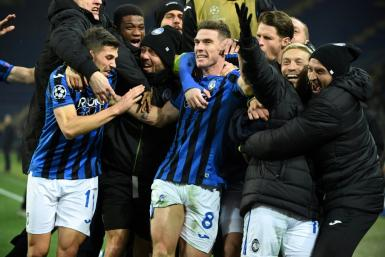 Atalanta famously qualified for the last 16