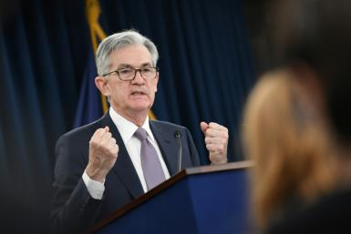 US Federal Reserve Bank Chairman Jerome Powell