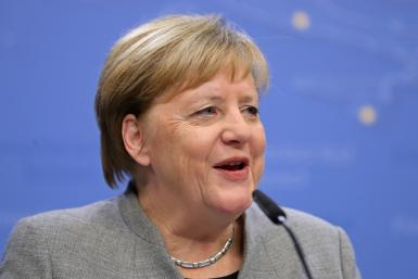 German Chancellor Angela Merkel warned that Britain would be an economic 'competitor at our door'