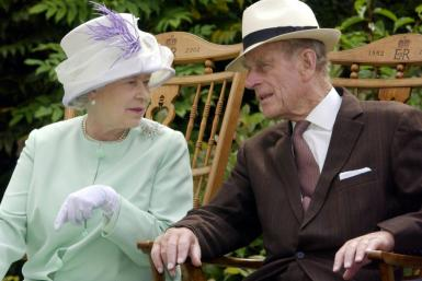 Britain's Queen Elizabeth II and Prince Philip