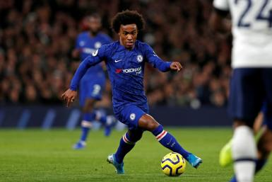Key man - Willian has starred for Chelsea this season