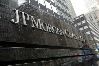 JPMorgan Chase posted a jump in profits in the fourth quarter, topping expectations on strong credit card lending and a good performance in trading