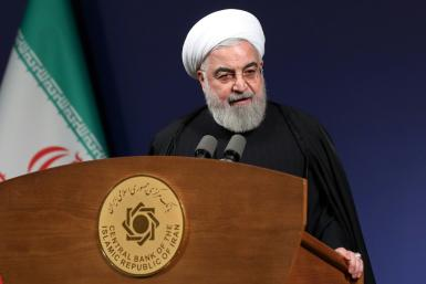 "Iran's President Hassan Rouhani says his government ""is working daily to prevent military confrontation or war"" with the United States"