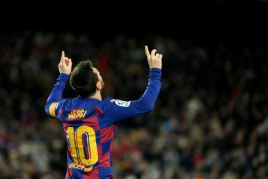 Lionel Messi scored the winner as Barcelona beat Granada on Sunday in Quique Setien's first game in charge.