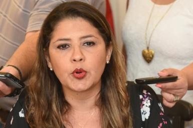 "Paraguayan Justice Minister Cecilia Perez, pictured, said prison staff ""knew nothing and did nothing"" about the escape"