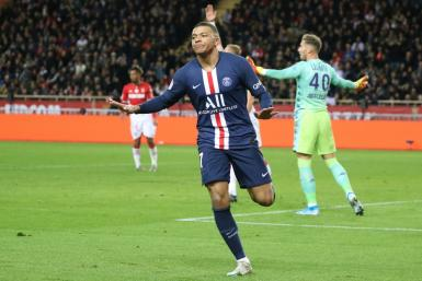 Kylian Mbappe has scored 21 goals in 22 appearances for PSG this season
