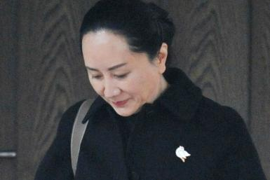 Huawei chief financial officer Meng Wanzhou, seen here leaving her Vancouver home January 22, is fighting extradition to the United States