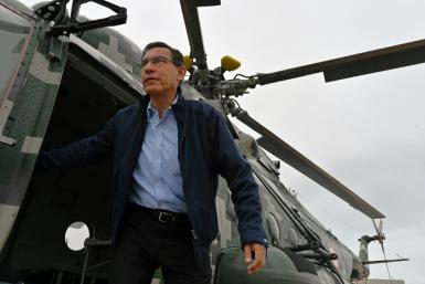 Peruvian President Martin Vizcarra is forecast to strengthen his position in Sunday's parliamentary election