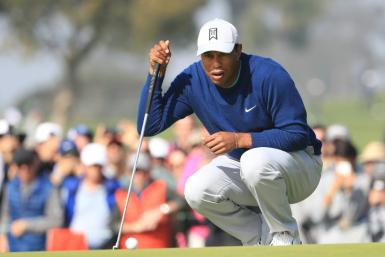 Tiger Woods chases a record 83rd career US PGA Tour title this weekend at the Farmers Insurance Open on a Torrey Pines layout where he has won eight prior events