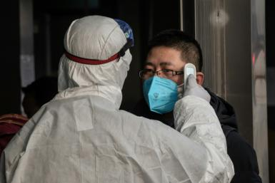 Chinese authorities are battling to contain the virus, which has claimed more than 100 lives and infected thousands, with investors growing increasingly worried about the economic impact