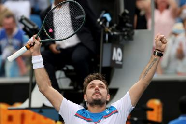 Switzerland's Stanislas Wawrinka dug deep to come from behind in five intense sets and win 6-2, 2-6, 4-6, 7-6 (7/2), 6-2 against Russia's Daniil Medvedev