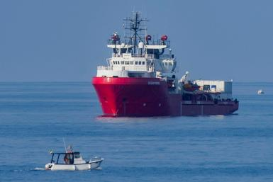 The Ocean Viking rescue ship picked up 407 people in five operations in recent days