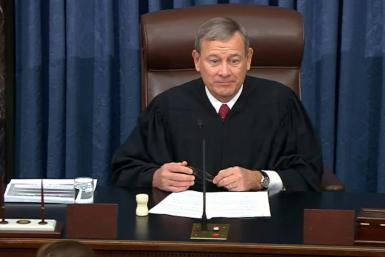 US Supreme Court Chief Justice John Roberts is presiding over the Senate impeachment trial of President Donald Trump
