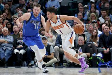 Devin Booker Phoenix Suns Luka Doncic Dallas Mavericks