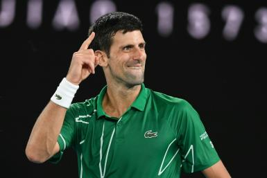 Serbia's Novak Djokovic comes into the Australian Open final with 16 Grand Slam crowns and hoping to close the gap on Rafael Nadal's 19 and Roger Federer's 20