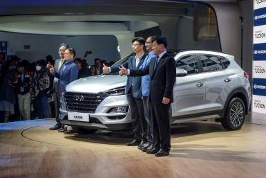 South Korea's largest automaker Hyundai Motor on Tuesday said it will suspend all domestic production because of a lack of parts due to the coronavirus outbreak