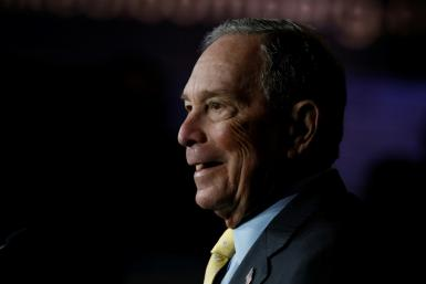Democratic presidential candidate and former New York Mayor Michael Bloomberg set up a task force on climate-related financial disclosures in 2015