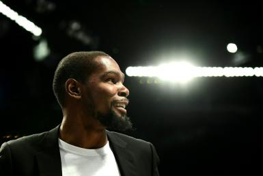 Kevin Durant has yet to play a game for the Brooklyn Nets after signing for the club last July