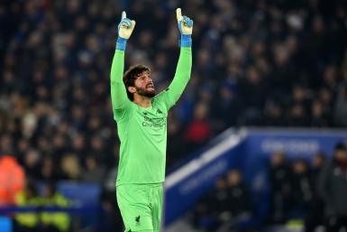 Number One: Liverpool's Alisson Becker has kept nine clean sheets in his last 10 Premier League games