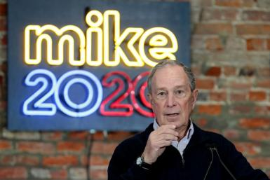US presidential candidate and former New York mayor Michael Bloomberg is one of the richest men in the world