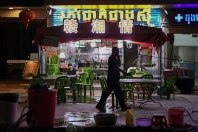 In Cambodia's Sihanoukville, a southern beach resort known for its casinos,the tourist take has shrivelled