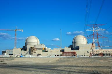The Arab world's first nuclear power plant is being built by a South Korean-led consortium at a cost of around $24 billion