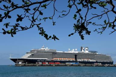 The Westerdam cruise ship has been allowed to dock in Cambodia after being barred by Japan, Guam, the Philippines, Taiwan and Thailand