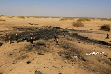 The Huthis said they took down the Tornado aircraft on Friday over the volatile northern province of Al-Jawf