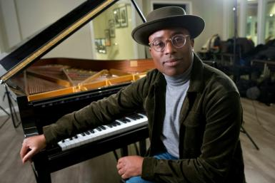 British pianist and composer Alexis Ffrench is set to release his latest album next month