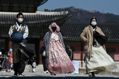 South Korea has seen a rapid surge in the number of coronavirus cases