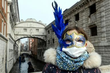 The spread of the virus has disrupted high profile events including the Venice Carnival