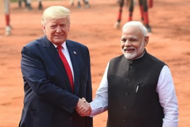 US President Donald Trump is expected to raise concerns about religious freedom during his lightning visit to India