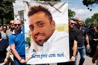 Carabinieri officer Mario Cerciello Rega was killed last July in an altercation with two American students