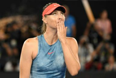 'Tennis — I'm saying goodbye,' wrote Maria Sharapova as she announced her retirement