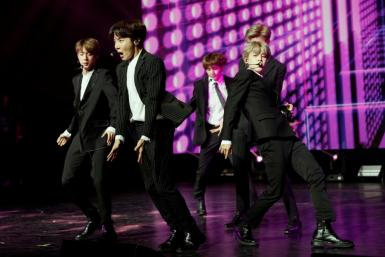 More than 200,000 fans were expected to attend the latest BTS -- pictured here performing in 2018 -- concerts in Seoul
