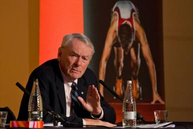 Senior International Olympic Committee official Dick Pound, pictured in March 2016, says the IOC is committed to this summer's Tokyo Games