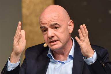 Fixture warning - FIFA president Gianni Infantino