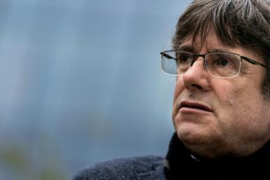 Former Catalan regional leader Carles Puigdemont fled Spain to avoid prosecution over the failed independence bid of 2017
