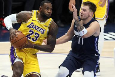 LeBron James Luka Doncic
