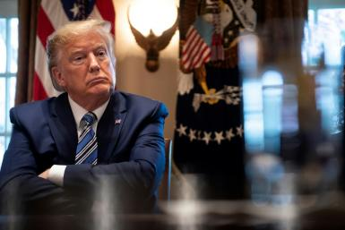 The House of Representatives voted to join the Senate in support of a resolution that bars US President Donald Trump from any military action against Iran without an explicit vote from Congress