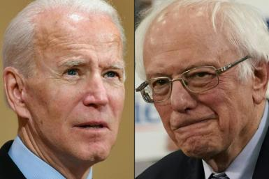 Joe Biden and Bernie Sanders have said they will campaign exclusively online for now due to the coronavirus crisis