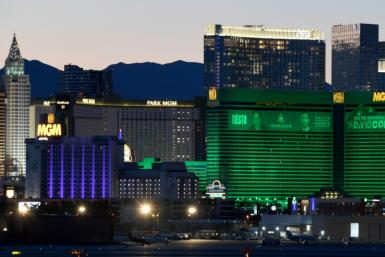 The MGM Grand Hotel & Casino on the Las Vegas Strip is among those set to closer over the coronavirus pandemic