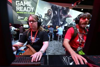 Chipmaking giant Nvidia has urged gamers to join the crowdsourced computing effort by donating idle computing time on their powerful gaming computers