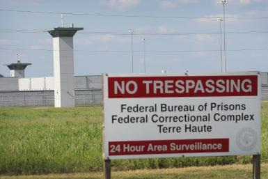 The US federal prison in Terre Haute, Indiana
