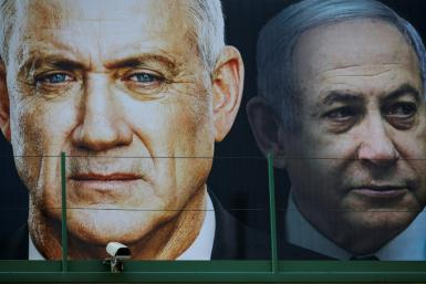 Former army chief Benny Gantz has agreed to join an 'emergency unity government' with Israeli Prime Minister Benjamin Netanyahu