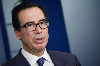 US Treasury Secretary Steven Mnuchin has dismissed statistics showing rising unemployment, saying they are not reflective of the normal economy
