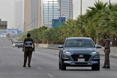 Riyadh, like the rest of the country, currently has an 15-hour curfew, a measure designed to slow the advance of the coronavirus