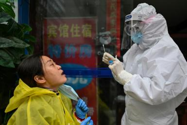 China claims success in suppressing the coronavirus, with official figures now routinely showing no new domestic infections
