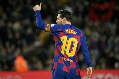 Barcelona captain Lionel Messi confirmed the players will take a 70 per cent pay cut during Spain's state of alarm
