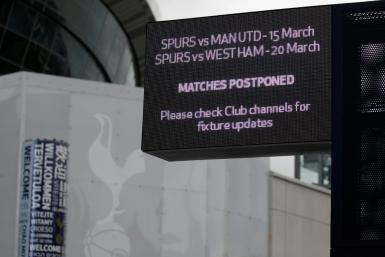 Premier League matches have been postponed until at least April 30